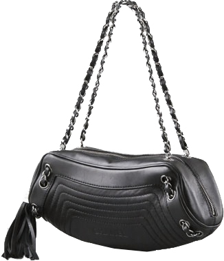 chanel vintage blacl Chanel Vintage Bag