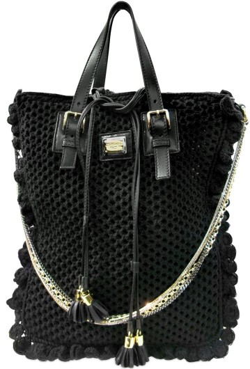 ... crochet miss helen Dolce & Gabbana Crochet Miss Helen Shoulder Bag