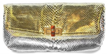 lanvin python metallic degrade clutch Lanvin Python Metallic Degrade Clutch
