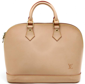 louis vuitton leather alma bag Louis Vuitton Custom Order Natural Leather Alma Bag