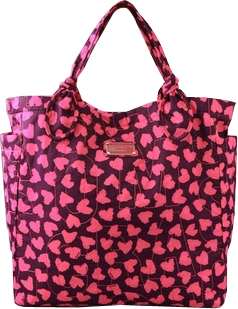marc by marc jacons prety nylon wild heart tate tote Marc by Marc Jacobs Pretty Nylon Wild at Heart Tate Tote