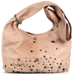 sara berman slouchy studded leather bag Sara Berman Slouchy Studded Leather Bag