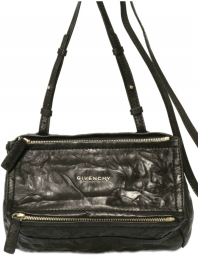 Givenchy Mini Washed Black shoulder bag Givenchy Pandora Bag