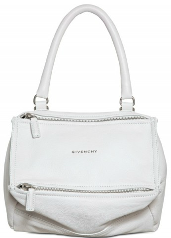 Givenchy Pandora small grained white leather bag Givenchy Pandora Bag