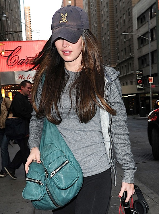 Megan Fox Dona Alexander Wang Wang Donna Hobo