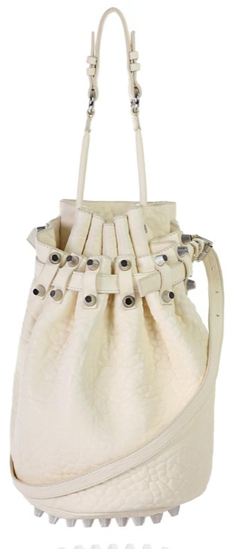 alexander wang bucket bag1 Wang Diego Bucket Shoulder Bag