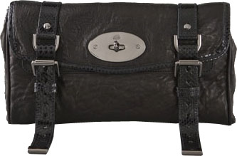 black alexa clutch Black Mulberry Alexa Clutch
