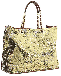 dg gold tote D&G Gold Sparkly sequined Tote
