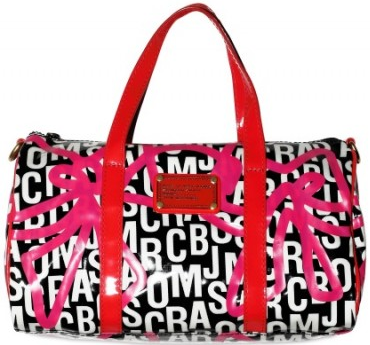 marc jacobs fast bag Marc by Marc Jacobs Bow Logo Travel Fast Bag