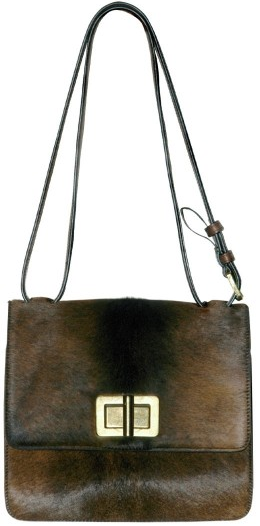 Chloe Pony Fur New Louise Shoulder Bag Chloe Pony Fur New Louise Shoulder Bag