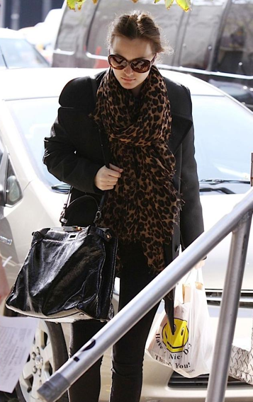 Leighton Meester Fendi Peek a boo bag Fendi Large Peek a boo Python Bag