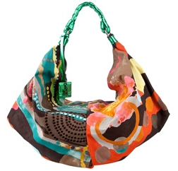 Missoni Oversized Satin Shoulder Bag2 Missoni Oversized Satin Shoulder Bag
