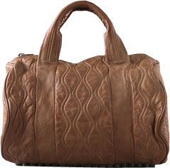 alexander wang brown mini rocco bag Rocco Brown Mini Duffel Bag