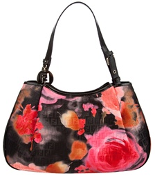 fendi floral print hobo bag Fendi Floral Print Hobo Bag