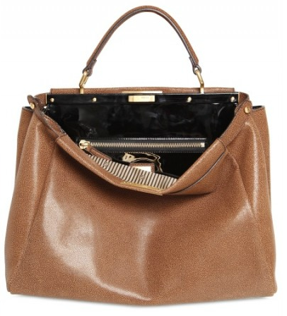 fendi peek a boo4 Fendi Large Peek a boo Python Bag