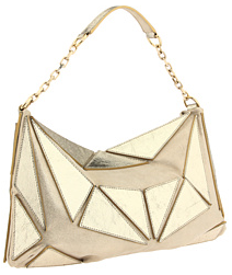 gold jean paul gautier diamond bag Jean Paul Gaultier Small Diamond Bag
