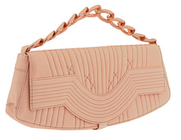 jean paul gaultier pink chain clutch Jean Paul Gaultier Pink Chain Clutch