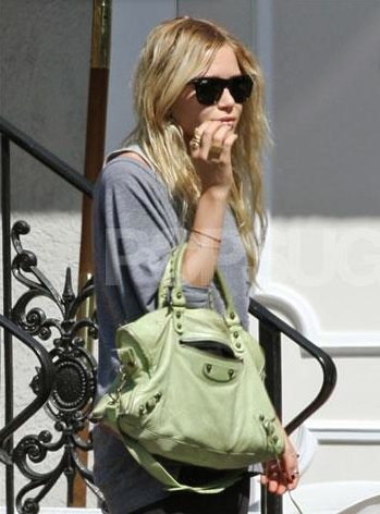 mary kate olsen balenciaga Balenciaga Motorcycle Bag