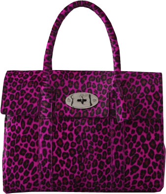 mulberry pink leopard bayswater Mulberry Pink Cheetah Bayswater
