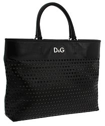Dolce Gabbana Black Tote D&G Black Tote