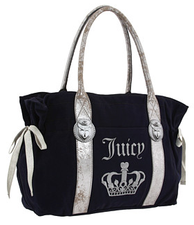 Juicy Couture Printed Lock Tote Juicy Couture Printed Lock Tote