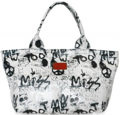 Marc by Marc Jacobs Large Coated Gaffiti canvas tote Marc by Marc Jacobs Large Coated Gaffiti canvas tote