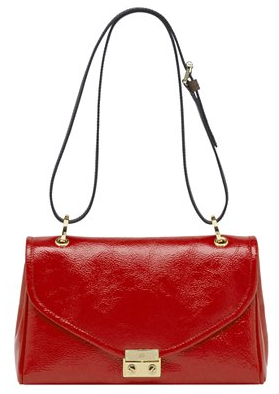 Mulberry Red Patent Neely Shoulder bag Mulberry Red Patent Neely Shoulder bag