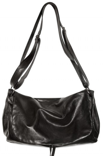 Ann Demeulemeester Gathered Side Shoulder Bag  Ann Demeulemeester Gathered Side Shoulder Bag