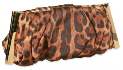 Dolce Gabbana Satin Leopard Miss Lady Clutch Dolce & Gabbana Satin Leopard Miss Lady Clutch