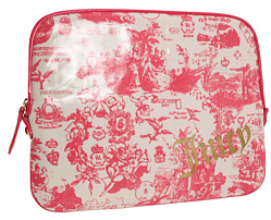 Juicy Couture Printed Laptop Sleeve Juicy Couture Printed Laptop Sleeve