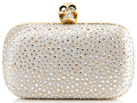Alexander McQueen Crystal Embellished Clutch Alexander McQueen Crystal Embellished Clutch