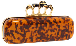 Alexander mcqueen knuckelduster clutch Knuckleduster Clutch