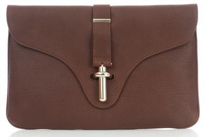 Balenciaga Textured Leather Clutch Balenciaga Textured Leather Clutch