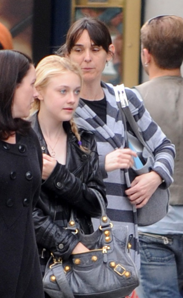 Dakota fanning balenciaga Balenciaga Giant City Bag