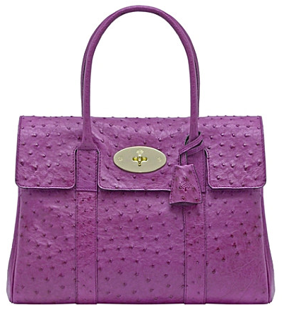 Mulberry Bayswater Ostrich Mulberry Bayswater Ostrich