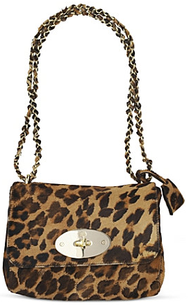 Mulberry Lily Haircalf Shoulder Bag Mulberry Lily
