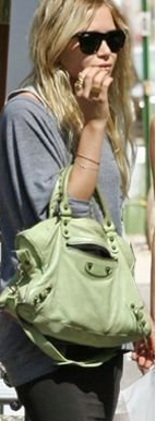 Olsen Twin Balenciaga Balenciaga Giant City Bag
