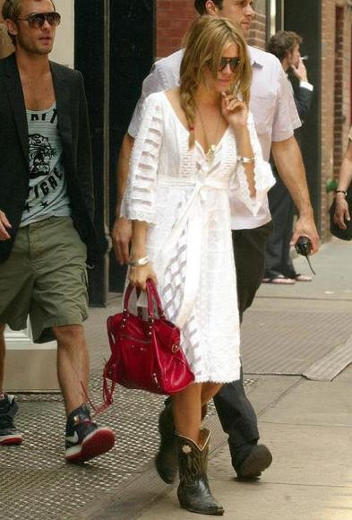 Sienna Miller Balenciaga Balenciaga Giant City Bag