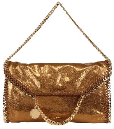 Stella McCartney Falabella bag gold metallic Stella McCartney Falabella Chain Bag