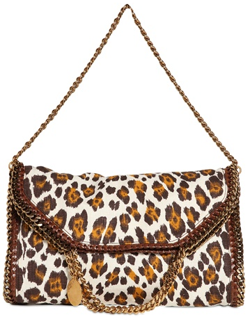 Stella McCartney Falabella bag leopard Stella McCartney Falabella Chain Bag