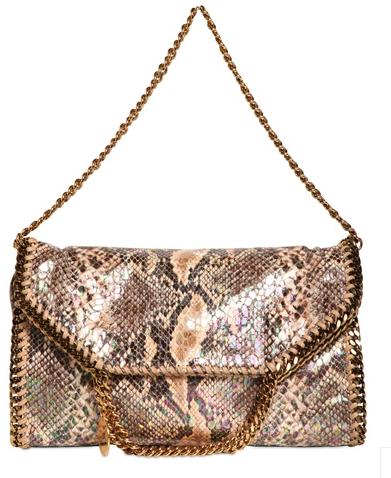 Stella McCartney Falabella bag metallic Stella McCartney Falabella Chain Bag