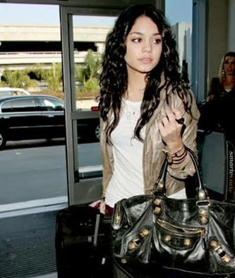 Vanessa Hudgens balenciaga city bag Balenciaga Giant City Bag