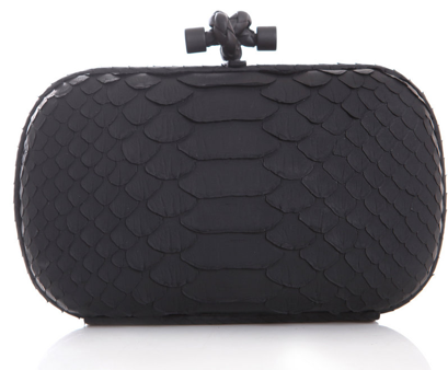 botega veneta knot clutch Bottega Veneta Woven Leather Clutch