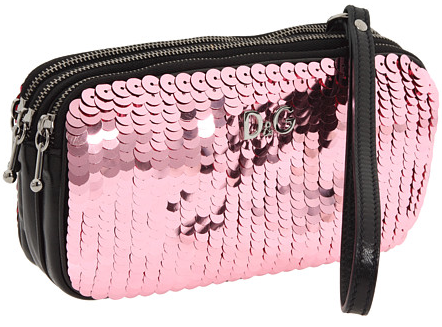 dg sequin clutch D&G Pink Sequin Clutch
