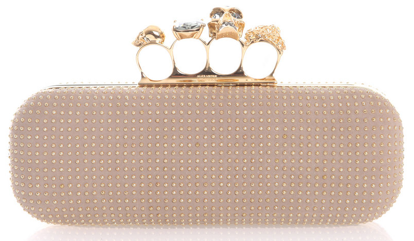 alexander mcqueen knuckleduster Skull Knuckle Duster Clutch