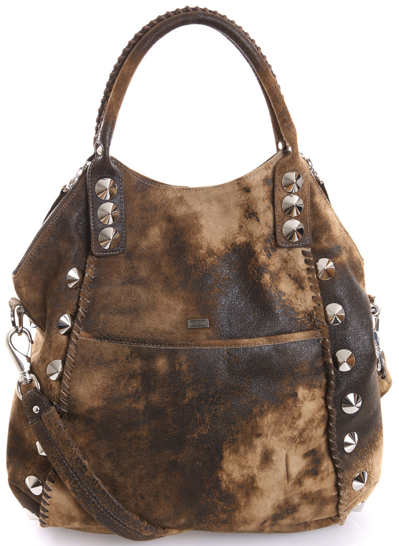 Barclays Distressed Shoulder Bag BE D  Barclays Distressed Shoulder Bag BE & D