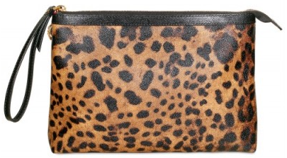 Dolce Gabbana Leopard Print Leather Clutch Dolce & Gabbana Leopard Print Leather Clutch