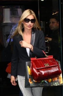 KATE MOSS MISS SICILY Dolce & Gabbana Miss Sicily