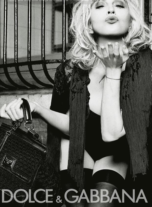 MADONNA AD MISS SICILY Dolce & Gabbana Miss Sicily