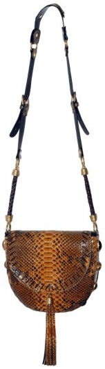 Emilio Pucci Python and Tiger Eye Stone Shoulder Bag Emilio Pucci Python and Tiger Eye Stone Shoulder Bag
